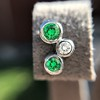 Tiffany & Co. Bubble Diamond and Tsavorite Earrings 4