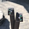 Tiffany & Co. Bubble Diamond and Tsavorite Earrings 9