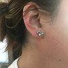 Tiffany & Co. Bubble Diamond and Tsavorite Earrings 26