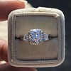 1.52ct Old European Cut Diamond in Tacori Dantela Mounting 10