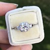 1.52ct Old European Cut Diamond in Tacori Dantela Mounting 5