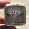 1.52ct Old European Cut Diamond in Tacori Dantela Mounting 9