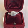 1.52ct Old European Cut Diamond in Tacori Dantela Mounting 6
