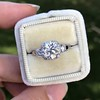 1.52ct Old European Cut Diamond in Tacori Dantela Mounting 7