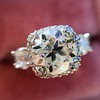 1.52ct Old European Cut Diamond in Tacori Dantela Mounting 23