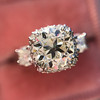 1.52ct Old European Cut Diamond in Tacori Dantela Mounting 19