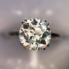 1.53ct Old European Solitaire by Leon Mege, GIA J VS2 6