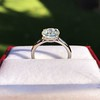 1.53ct Old European Solitaire by Leon Mege, GIA J VS2 18