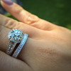 Diamond Wedding Set by Tacori  21