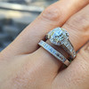 Diamond Wedding Set by Tacori  2