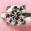 2.04ct Round Brilliant Cut Diamond GIA G SI1, Single Stone Setting 4
