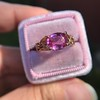 2.40ct Pink Sapphire Ring, by Rose Gold Ring by Beverly K 13
