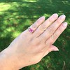 2.40ct Pink Sapphire Ring, by Rose Gold Ring by Beverly K 23