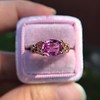 2.40ct Pink Sapphire Ring, by Rose Gold Ring by Beverly K 7