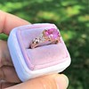 2.40ct Pink Sapphire Ring, by Rose Gold Ring by Beverly K 20