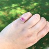 2.40ct Pink Sapphire Ring, by Rose Gold Ring by Beverly K 5