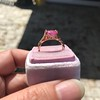 2.40ct Pink Sapphire Ring, by Rose Gold Ring by Beverly K 21