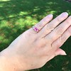 2.40ct Pink Sapphire Ring, by Rose Gold Ring by Beverly K 22