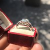 3.43ctw Emerald Cut Diamond 5-Stone Ring by Leon Mege, GIA F SI1 12