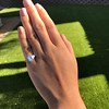 3.43ctw Emerald Cut Diamond 5-Stone Ring by Leon Mege, GIA F SI1 23