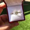 3.76ctw Emerald Cut Diamond Ring, by Leon Mege GIA H VS 5