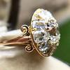 4.83ctw Peruzzi and Cushion Cut Diamond Cluster Ring 8