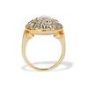 4.83ctw Peruzzi and Cushion Cut Diamond Cluster Ring 3