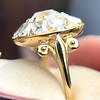 4.83ctw Peruzzi and Cushion Cut Diamond Cluster Ring 18