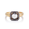 .53ctw Rose Cut Halo Ring, by Single Stone 2