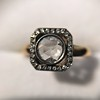 .53ctw Rose Cut Halo Ring, by Single Stone 28