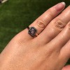 .53ctw Rose Cut Halo Ring, by Single Stone 45