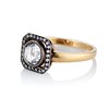 .53ctw Rose Cut Halo Ring, by Single Stone 0
