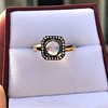 .53ctw Rose Cut Halo Ring, by Single Stone 15