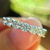 .75ctw 7-Stone Diamond Band, by Memoire 13