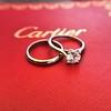 0.78ct Round Brilliant Diamond Bridal Set by Cartier 11