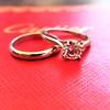 0.78ct Round Brilliant Diamond Bridal Set by Cartier 13