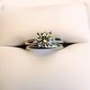 0.78ct Round Brilliant Diamond Bridal Set by Cartier 8