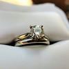 0.78ct Round Brilliant Diamond Bridal Set by Cartier 51