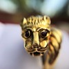 Gold Lion Ring, by Zolotas 5