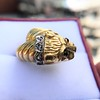 Gold Lion Ring, by Zolotas 13