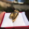 Gold Lion Ring, by Zolotas 9