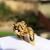 Gold Lion Ring, by Zolotas 10