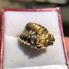 Gold Lion Ring, by Zolotas 4