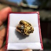 Gold Lion Ring, by Zolotas 18