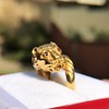 Gold Lion Ring, by Zolotas 11