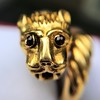Gold Lion Ring, by Zolotas 7