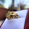 Gold Lion Ring, by Zolotas 17