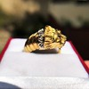 Gold Lion Ring, by Zolotas 1