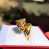 Gold Lion Ring, by Zolotas 6