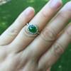 1.87ct Jadeite Halo Ring 19